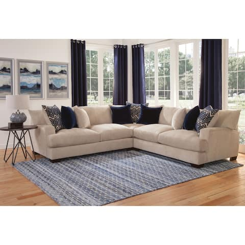 Granger Beige 3-Piece Sectional by Greyson Living