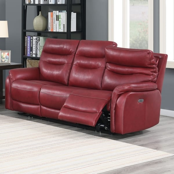 Wondrous Shop Ferndale Power Reclining Top Grain Leather Sofa By Andrewgaddart Wooden Chair Designs For Living Room Andrewgaddartcom