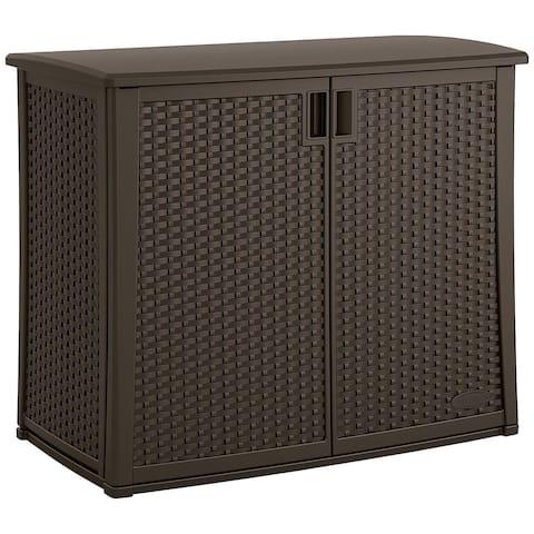 Wicker Outdoor Cabinet
