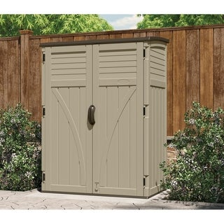 Large Vertical Storage Shed