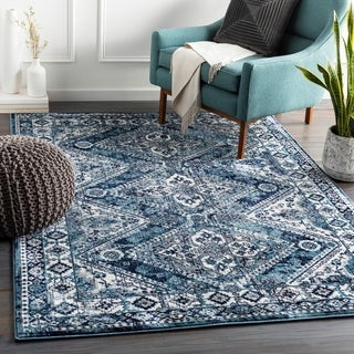 The Curated Nomad Cobblehill Bohemian Medallion Area Rug