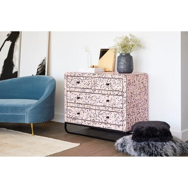 Aurelle Home Modern Glam Wood Sideboard Chest