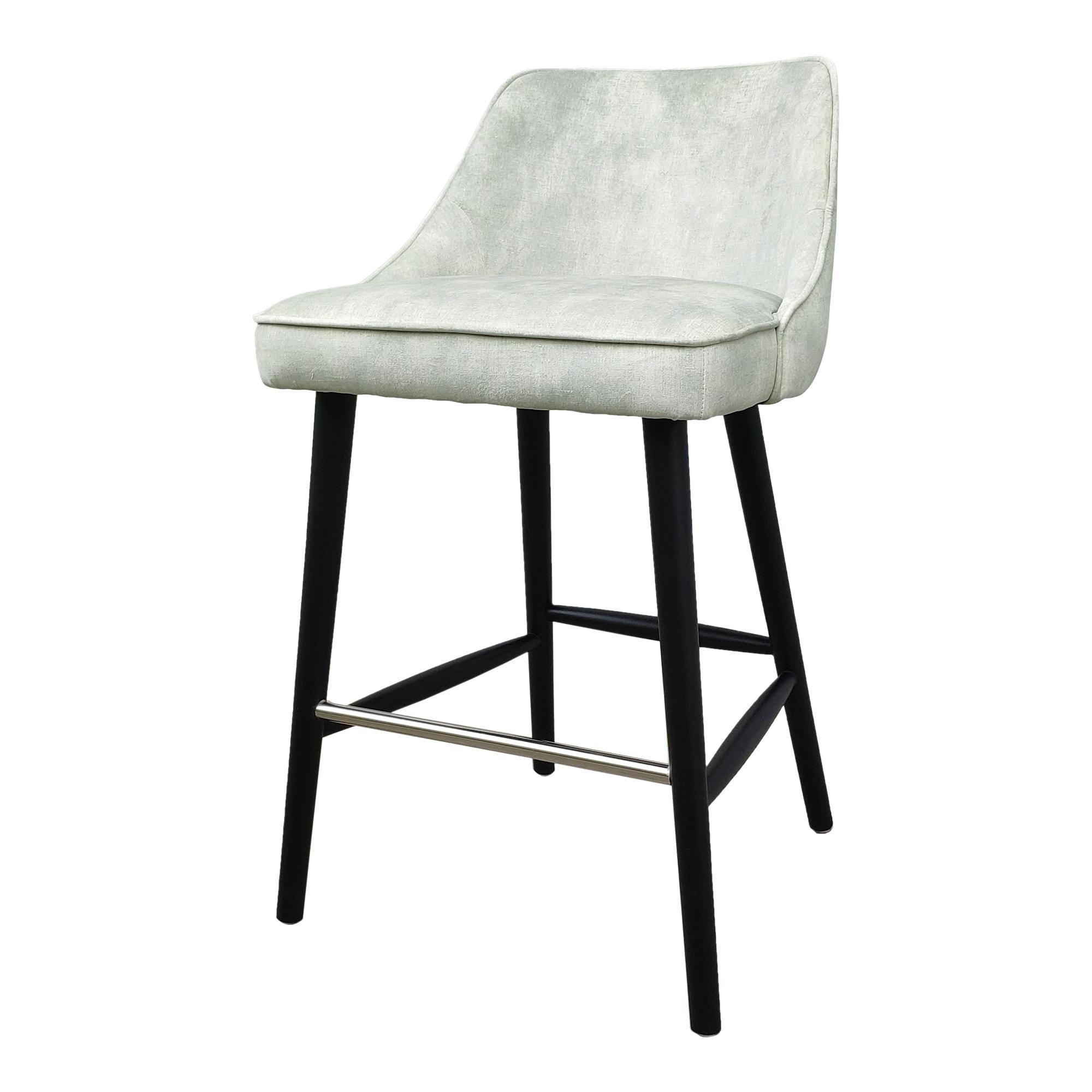 Image of: Shop Black Friday Deals On Aurelle Home Velvet Mid Century Modern Counter Stool 35 5 X 22 X 21 Overstock 29094948