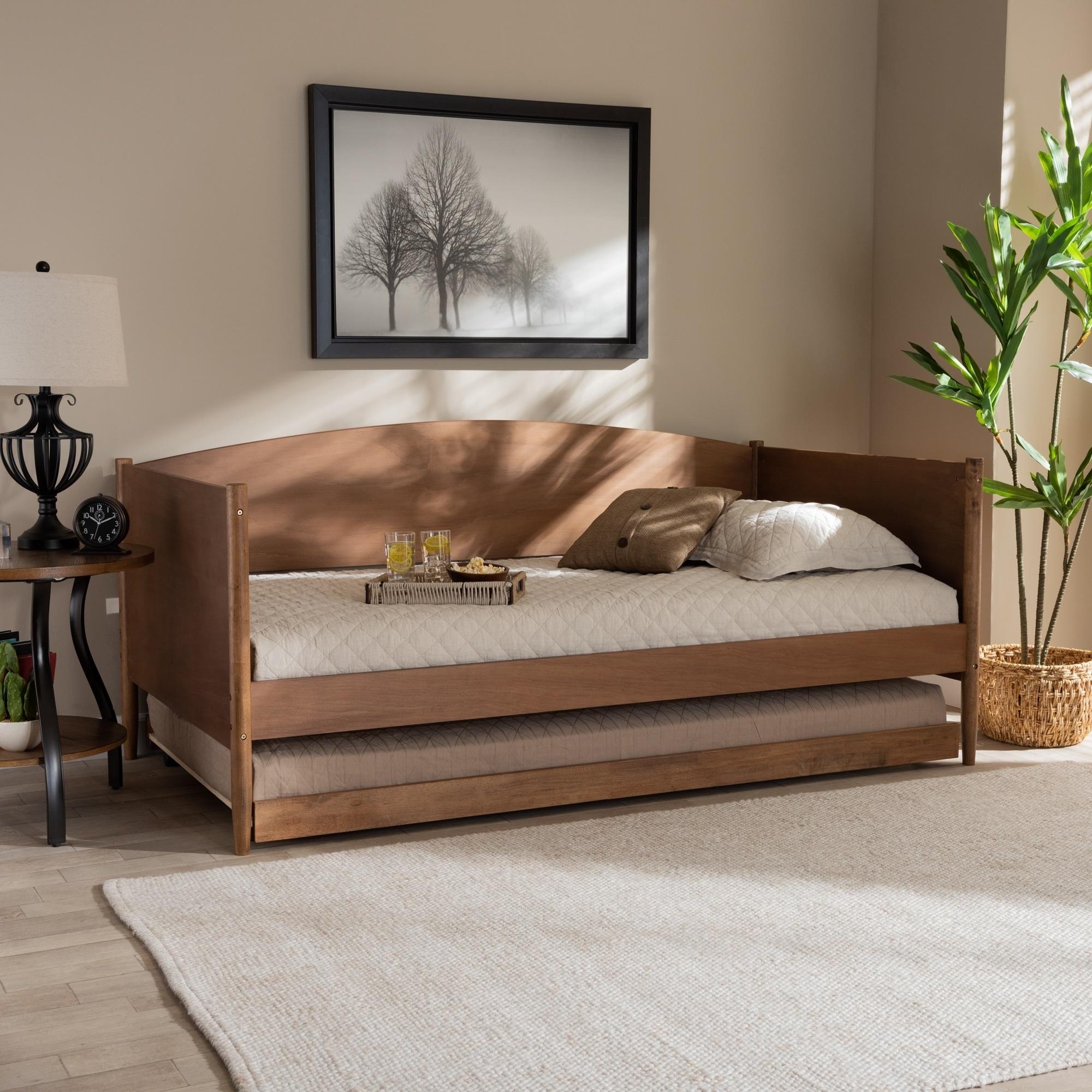- Shop Carson Carrington Daikanvik Mid-century Modern Daybed With