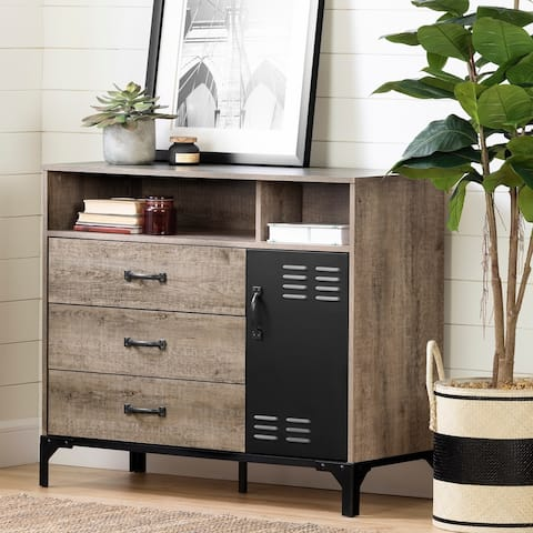 South Shore Valet 3-Drawer Buffet