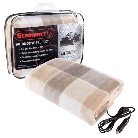 Electric Polar Fleece Car Blanket by Stalwart