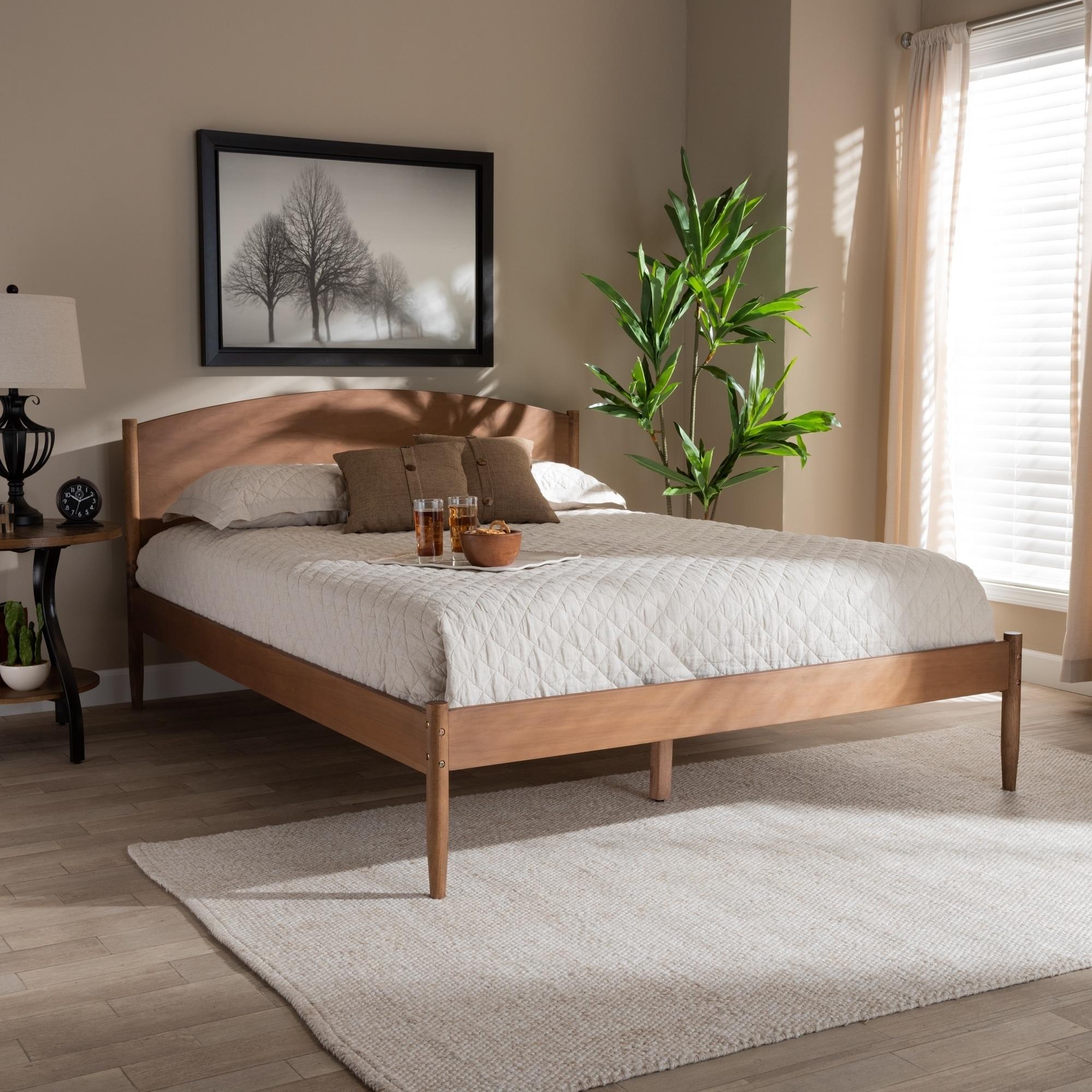 Gold Glass Dining Table, Shop Black Friday Deals On Carson Carrington Taftarod Mid Century Modern Wood Platform Bed Overstock 29095185