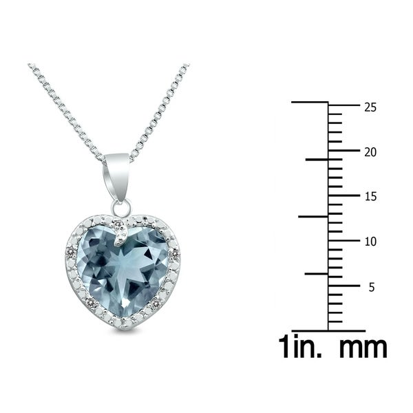 OPEN CIRCLE NECKLACE PENDANT W// LAB DIAMONDS //925 STERLING SILVER 18/'/'