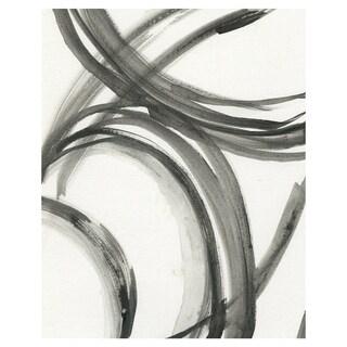 Black Curves by Swazey Jo Canvas Art Print