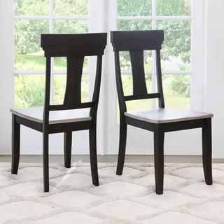 Abbyson Archwood Farmhouse Dining Chair (Set of 2)