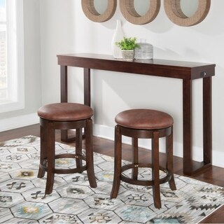 Copper Grove Barsinghausen 3-piece Console Table and Chairs Set