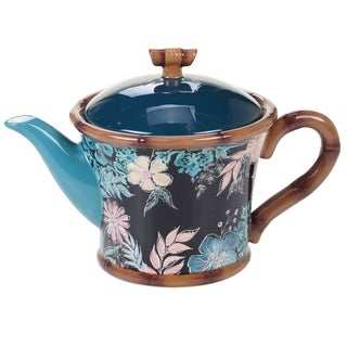 Certified International Exotic Jungle Teapot