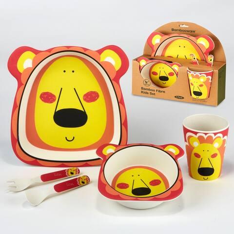 Certified International Lion 5-piece Children's Dinnerware Set