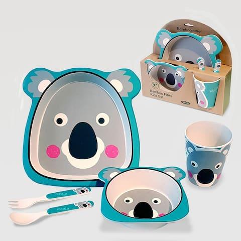 Certified International Koala Bear 5-piece Children's Dinnerware Set