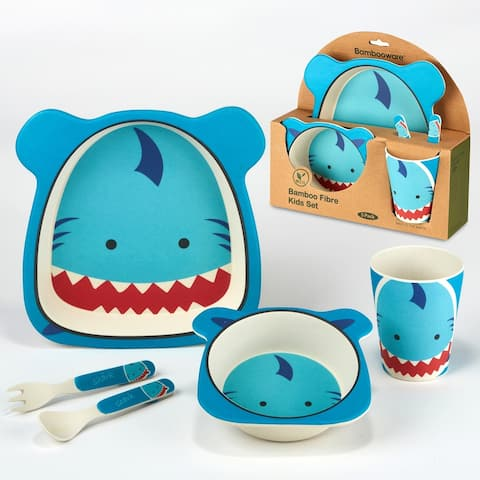 Certified International Shark 5-piece Children's Dinnerware Set