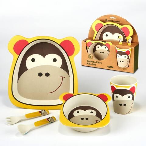 Certified International Monkey 5-piece Children's Dinnerware Set
