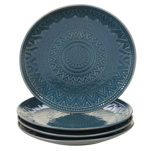 Certified International Aztec Salad Plates, Set of 4