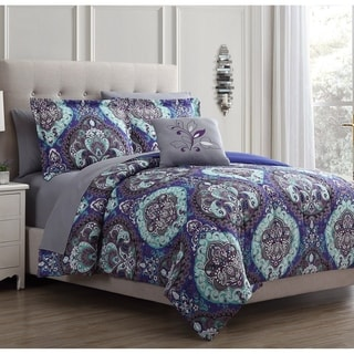 Amrapur Overseas Cathedral 8-Piece Printed Reversible Bed In A Bag