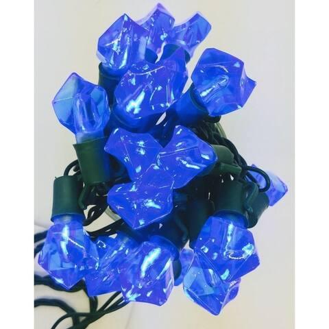 Rock Blue LED Light String