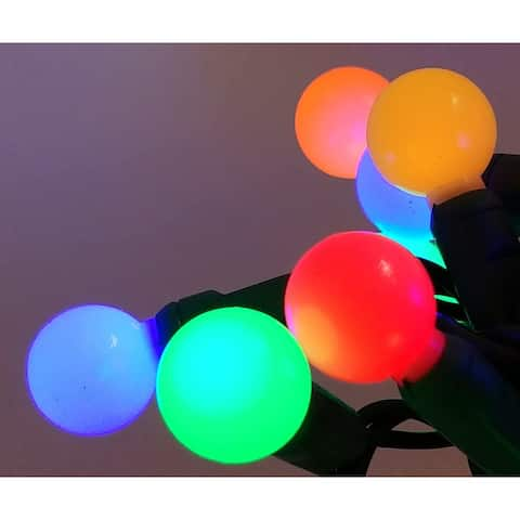 Multi Glow (Red, Blue, Yellow, Orange, Green) LED Set of 35 Lights Light String