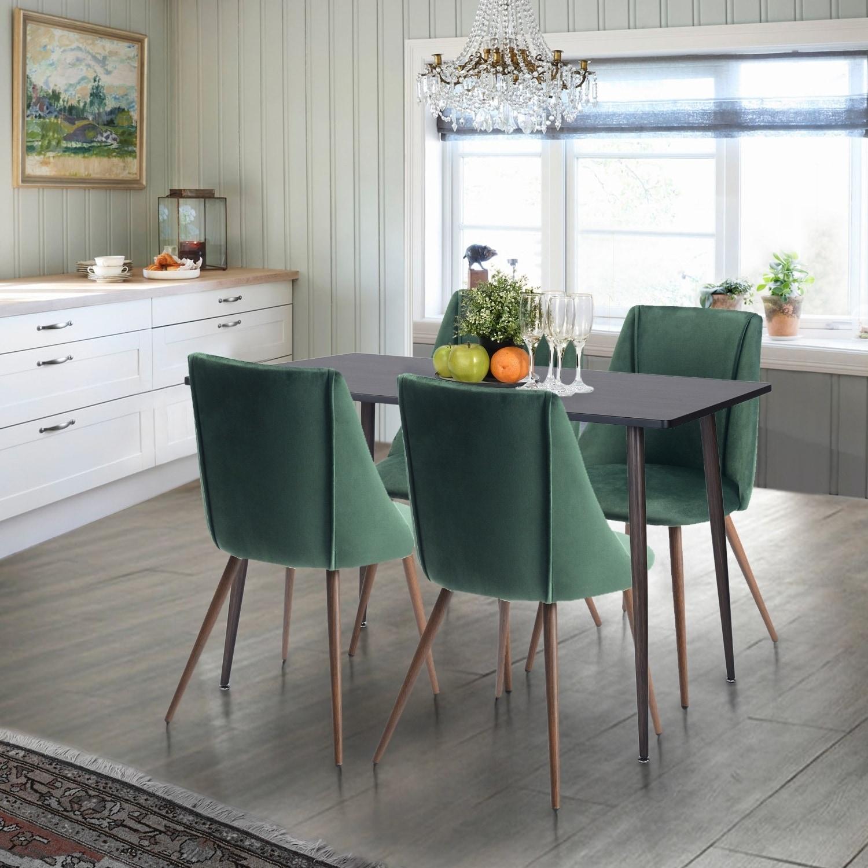 Furniture R 5-Piece Mid-century Modern Kitchen Dining Set
