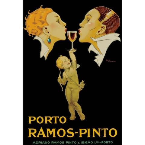 CANVAS Porto Ramos-Pinto Vintage Advertisement