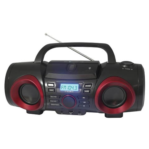 Naxa MP3/CD Boombox with Bluetooth