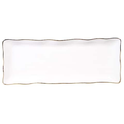 Certified International Elegance Rectangular Platter