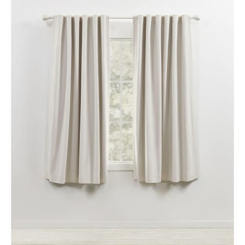 Lauren Ralph Lauren Sallie Blackout Back Tab/Rod Pocket Curtain Panel
