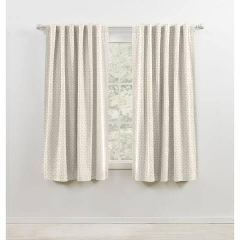 Lauren Ralph Lauren Terrain Blackout Back Tab/Rod Pocket Curtain Panel