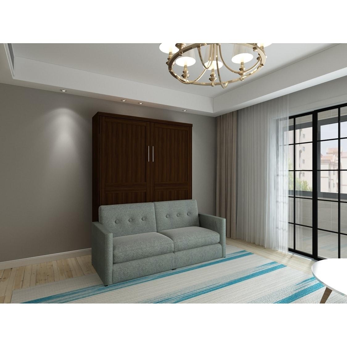 Brentwood Queen Sofa Murphy Bed Overstock 29106839