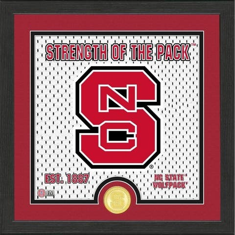 North Carolina State University Battle Cry Bronze Coin Photo Mint - 13X13