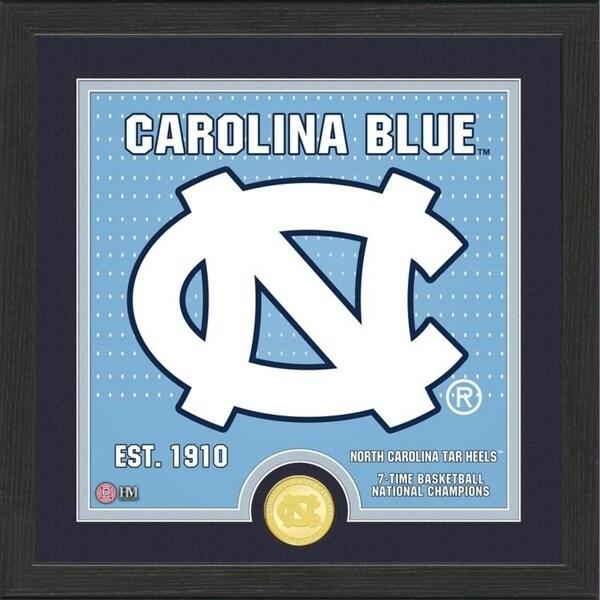 University of North Carolina Basketball Battle Cry Bronze Coin Photo Mint - 13X13