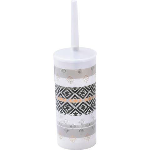 "Kenya Collection Toilet Bowl Brush Holder - 3.94""L x 3.94""W x 13.78""H"
