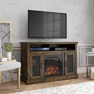 Carbon Loft Gilan Fireplace TV Stand for TVs up to 54 inches