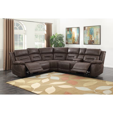 Asbury 3-Piece Reclining Sectional by Greyson Living