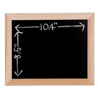 4Pack Framed Chalkboard Wooden Blackboard Decorative Home Classroom Menu Wedding