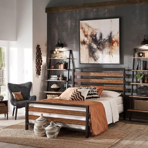 Gander Dark Bronze Metal Bed by iNSPIRE Q Modern