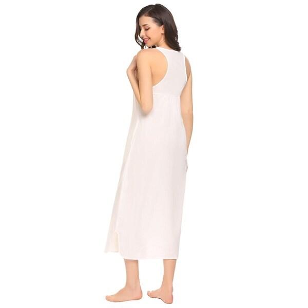 Ladies Short Sleeve Pug Nightdress Cotton Jersey  Night Shirt Nightie Size 8-22