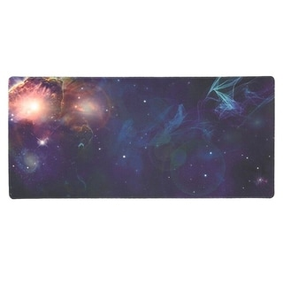 """Extended Mouse Pad Desk Extra Large Non-Slip Water Resistant, Cosmos, 34.5x15.8"""""""