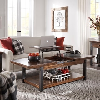 Link to Richter Dark Cherry Finish Table Set by iNSPIRE Q Classic Similar Items in Living Room Furniture
