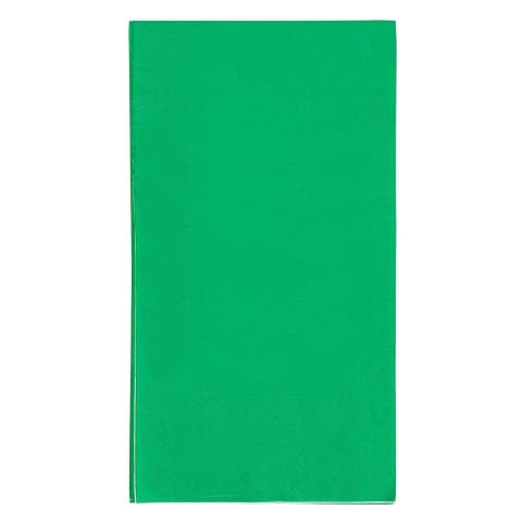 120 Green Paper Dinner Napkins 2-Ply Absorbent for Wedding Party Event 7.5 x 4.2