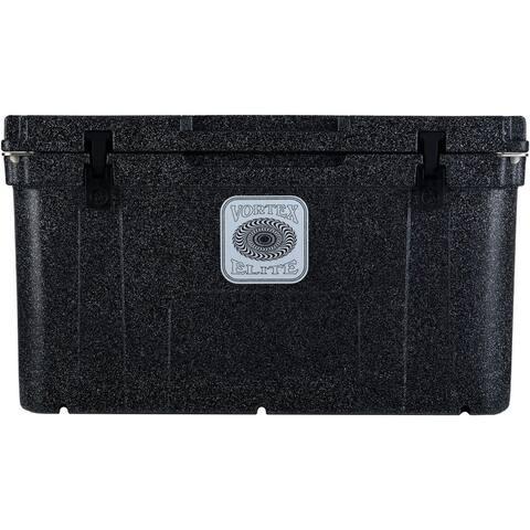 Vortex Elite Series 78-Quart Wheel-Kit Ready Rotational-Molded Customizable Cooler System in Basalt