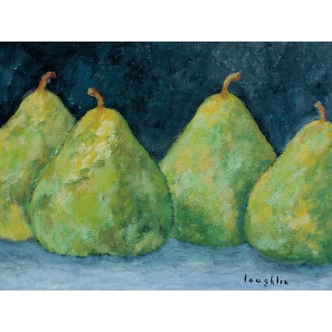 CANVAS Pears by Brendan Loughlin Art Painting Reproduction