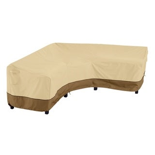 Link to Classic Accessories Veranda™ V-Shaped Sectional Lounge Set Cover Similar Items in Patio Furniture