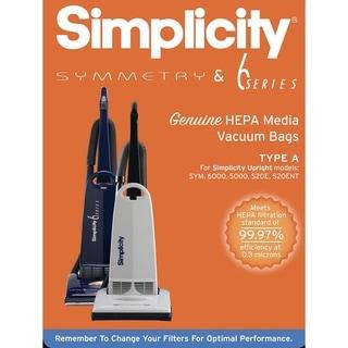 Link to SAH-6 Simplicity Vacuums S20EZM HEPA Media Replacement Bags (Set of 6) Similar Items in Vacuums & Floor Care
