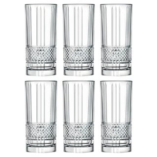 Link to Majestic Gifts Inc. S/6 Glass Highball Tumblers Similar Items in Glasses & Barware