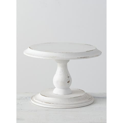 Weathered White Tabletop Stand