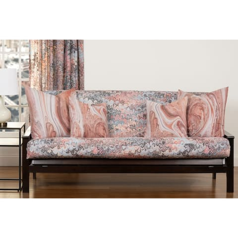 Art of Marbling Bouquet Futon Cover