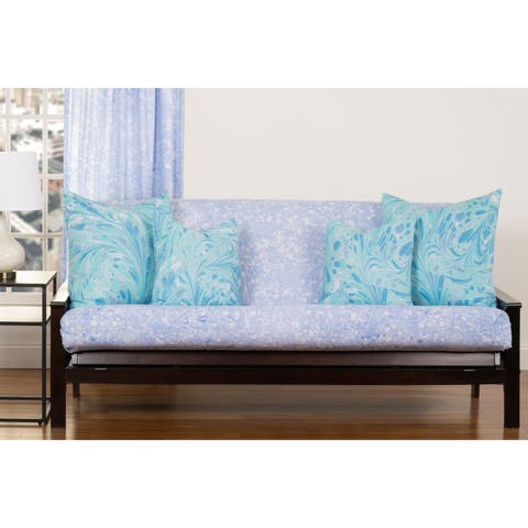 Blue Ice Full 7' , Full & Queen size futon cover